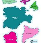Ciencias Sociales / Comunidades autónomas españolas