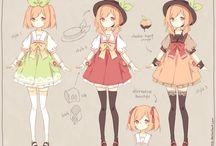 аниме одежда