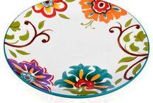 pintura en platos y ceramicas