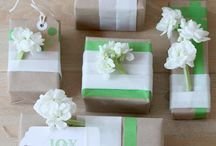 Beautiful Wrapping Ideas / by Cat B