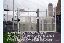 J B Corrie & Co Ltd / JB Corrie is a specialist fencing company dealing with the installation and manufacture of high security fencing systems
