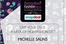 Bangalore Fashion Week Feb 2016 / by MICHELLE SALINS