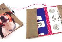 Útlevéltartók / Passport holder / http://www.colorfundogs.hu/colorfun4ub/utleveltarto