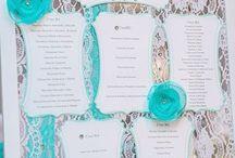 Свадьба бирюза