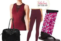 Workout Clothes / Workout clothes for exercise, yoga, running and anything to do with getting fit over 40!