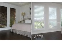 Before and After / A few of our favorite Before and After photos. See what the right window coverings can do for your space!