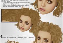 Adobe PS tutorials