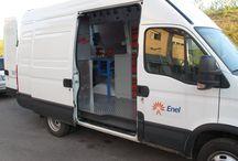 Furgoni attezzati / CIE Tools realizza furgoni attrezzati. Ecco l'esempio di un furgone realizzato per ENEL