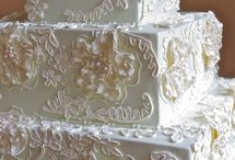 floral lace cakes
