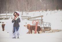 winter weddings / by Lindsay Raymondjack Photography