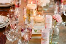 Wedding Centerpiece Decor / Flowers, candles, birches, and even recycled milk crates can make a table centerpiece stylish and beautiful.