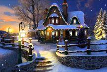 Cantinho do Natal e Ano Novo
