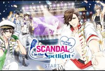 Voltage Scandal In The Spotlight. Revance and *Kaname*. (me!) / Damn, it! *Kaname* has been with all of them now! But she still loves Kota and Taka best. ❤ / by Hailea Verduga Fiona