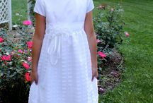 First communion dresses / by Carol Glover