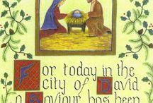 Christmas cards - Nativity