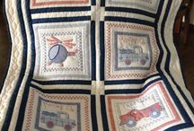 Baby Quilts / Hand embroidered and hand quilted baby quilts.