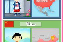 Occupations enfant - géographie