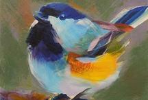 aaaaaaaArtwork Bird Paintings