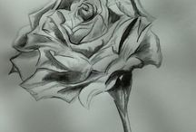 Manon Marsilje; Pen and ink / Inkdrawings/paintings i made myself