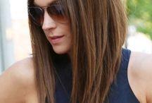 Haircut for medium length