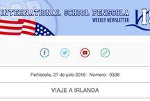 Weekly Newsletter ColegiosISP-International School Peniscola / Newsletter semanal con las noticias más destacadas de la semana en #ColegiosISP