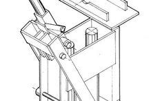 prensa para tijolo