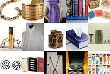 Non-Mall Holiday Presents for the Bookish & Arty / Don't leave your house great presents for those who love books and arty stuff.