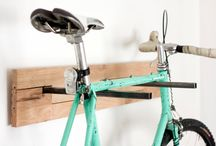 Cykel ophæng/ skur indretning