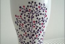 HAND PAINTED CUPS AND MUGS / by Fausta Babenskaite