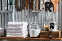 Laundry room & storage / Laundry & storage space