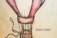 R+G Art / Screening original hand-drawn art is what we love to do.