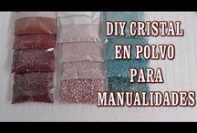 cristal en polvo