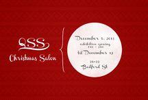 QSS Christmas Salon 2013 / QSS Christmas Salon   40+ Belfast Artists   5 - 19 December, 2013