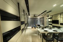 Dynamism In Design / A design fit for an up-market condominium in the heartlands