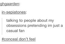 Fandoms and Feelies