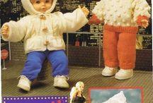 "Patterns For Doll Clothes / Patterns For Doll Clothes ""From baby to fashion dolls"" www.knitting-n-crochet.com"