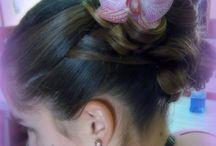 Coiffure & nature. / Cheveux longs, coiffures naturelles, ondulations, transparences et nuances.