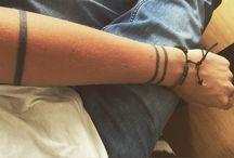 my own tattoos.