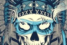 Skulls n candies / by Ares Iván Rohr Ramírez