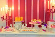 Mesas para Bodas / Mesas para comemorar aniversários de casamento