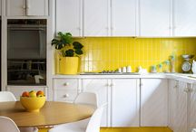 Yellows / Boy do we love a zingy yellow! Which is why we've pinned a few favourite ideas for when you want to decorate with citrusy hues...