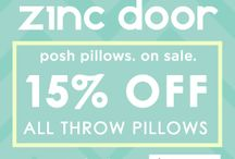 PRETTY THROW PILLOWS / Throw pillows can transform the look of a room - and don't cost a fortune! / by Freshmom: Good Taste Guide