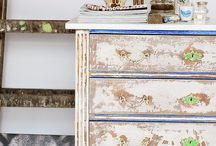 Furniture Upcycling & Vintage Furniture / Save money and create something beautiful for your home! My favourite ideas and examples of furniture that looks amazing. How to and DIY for upcycling and improving your old vintage furniture as well as some great techniques to distress modern pieces.