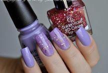 Лаки для ногтей. цвета
