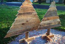 christmas wood pallet ideas