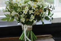 svatební kytice narcisy