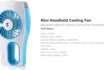 Enjoy the Air Conditioning experience with Portable Cooling Fan