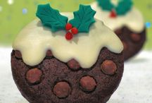 Christmas Cookie Ornament Decorations & Cupcakes, Cake Pops