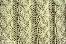 Pontos trico/croche/bordado