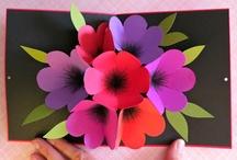 Çiçek kartları
